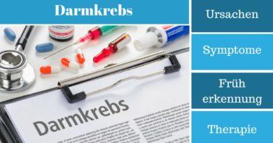 Darmkrebs - Ursachen, Symptome, Früherkennung und Therapie