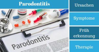 Parodontitis - Ursachen, Symptome, Früherkennung und Therapie