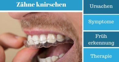 Zähneknirschen - Ursachen, Symptome, Früherkennung und Therapie