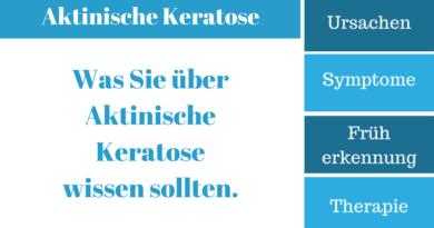 Aktinische Keratose