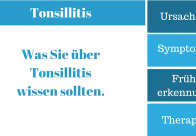 Tonsillitis – Krankheitssymptome, Ursachen, Therapie und Behandlung
