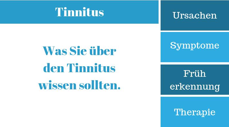Tinnitus – Krankheitssymptome, Ursachen, Therapie und Behandlung