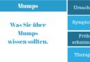 Mumps Symptome