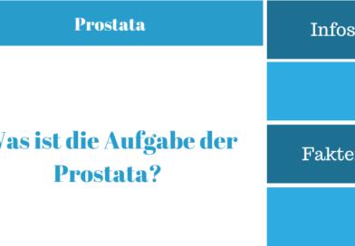 Was ist die Aufgabe der Prostata?